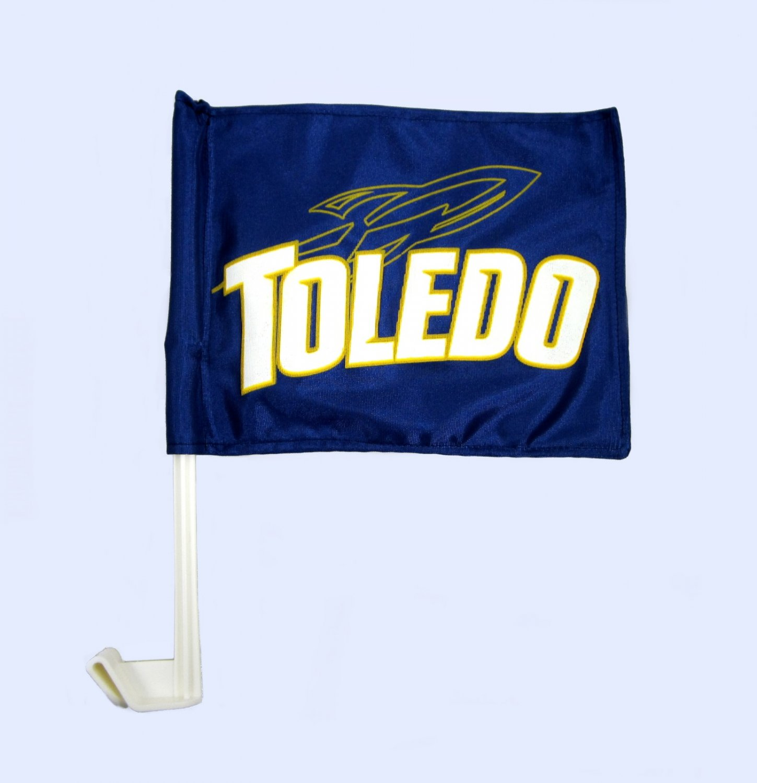 Toledo Rockets Car Flag