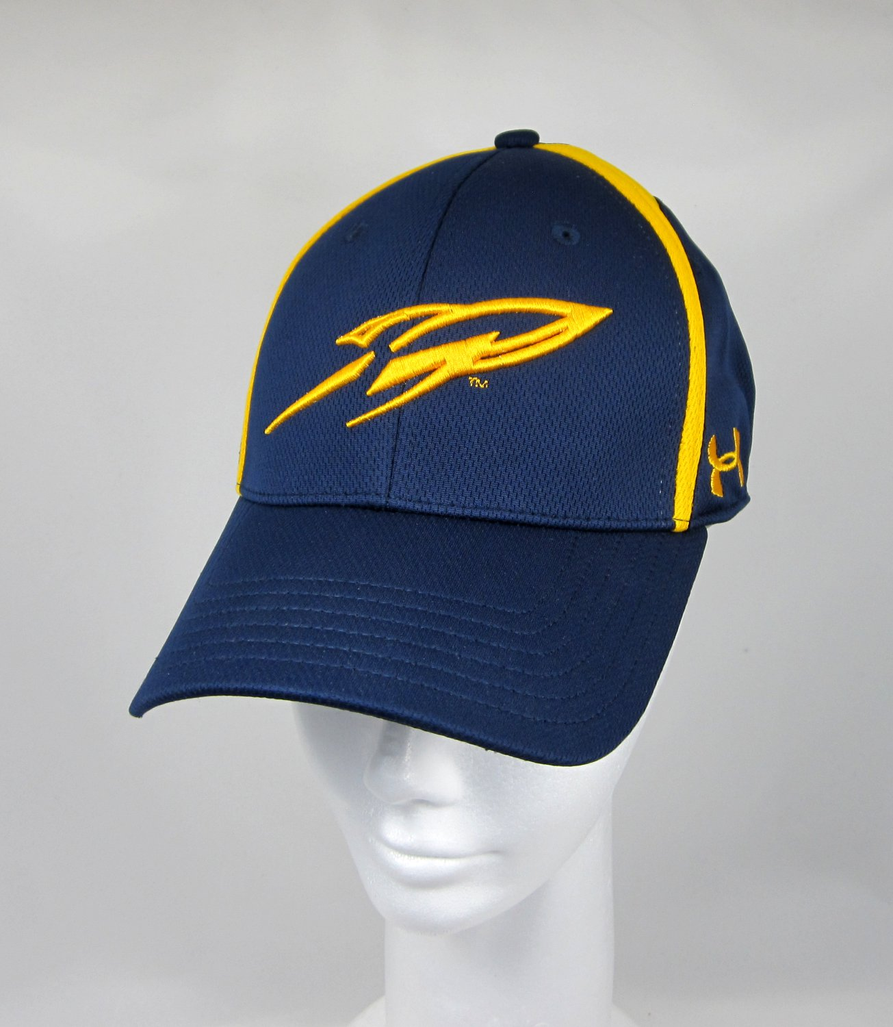 Blue and Gold UA Rocket Logo Cap - Fitted 'M'