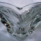 "Mikasa Small Crystal Vase Candle Holder or Candy Jar 5.5"" X 3.5"""