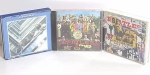 Beatles 3 Classic CD Sets: 1. 1967-70 2CD; 2. Anthology 2CD; 3. SgtPepperLoneHrt