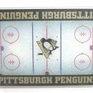 """NHL Pittsburgh Penguins Tempered Glass Cutting Board 15"""" wide 11""""tall resistant"""