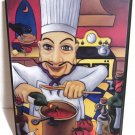 """Will Rafuse World-renowned Canadian Artist Chef Eduardo Plaque Vibrant Color 10"""""""