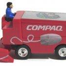 "Miniature Zamboni Houston Aeros Ice Hockey Team Compaq Center Commemorativ 3""tal"