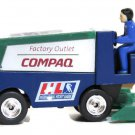 Miniature Zamboni Houston Aeros Ice Hockey Team Compaq Center Commemora Green 3""