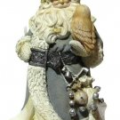Santa with Owl Christmas Hanging Ornament 4047722 Foundations Limited EditionNIB