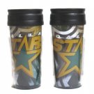 NHL Pair of Dallas Stars 16oz Acrylic TumblersTravel Cup Hot/Cold Coffee