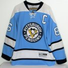Penguins Jersey Mario Lemieux Winter Classic Blue 2011 #66 C Sz Mens Medium Hero