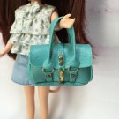 "Blue Fashion Handbag for 12"" Dolls"