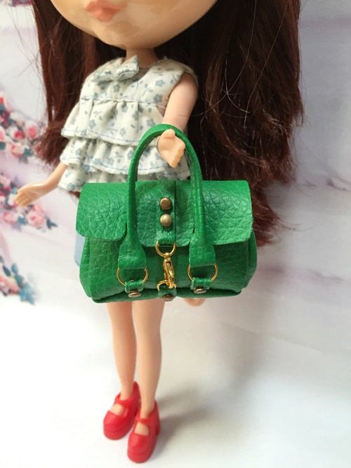 Green Fashion Handbag for Blythe/Barbie/Pullip/Licca Doll