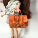 Orange Fashion Handbag for Blythe/Barbie/Pullip/Licca Doll
