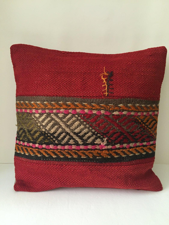 Turkish Anatolian Kilim Pillow