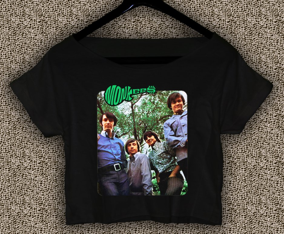 More of The Monkees T-shirt More of The Monkees Crop Top