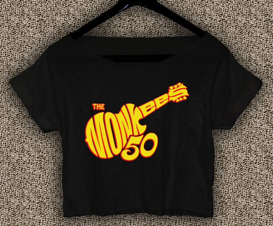 More of The Monkees T-shirt More of The Monkees Crop Top MTM#02
