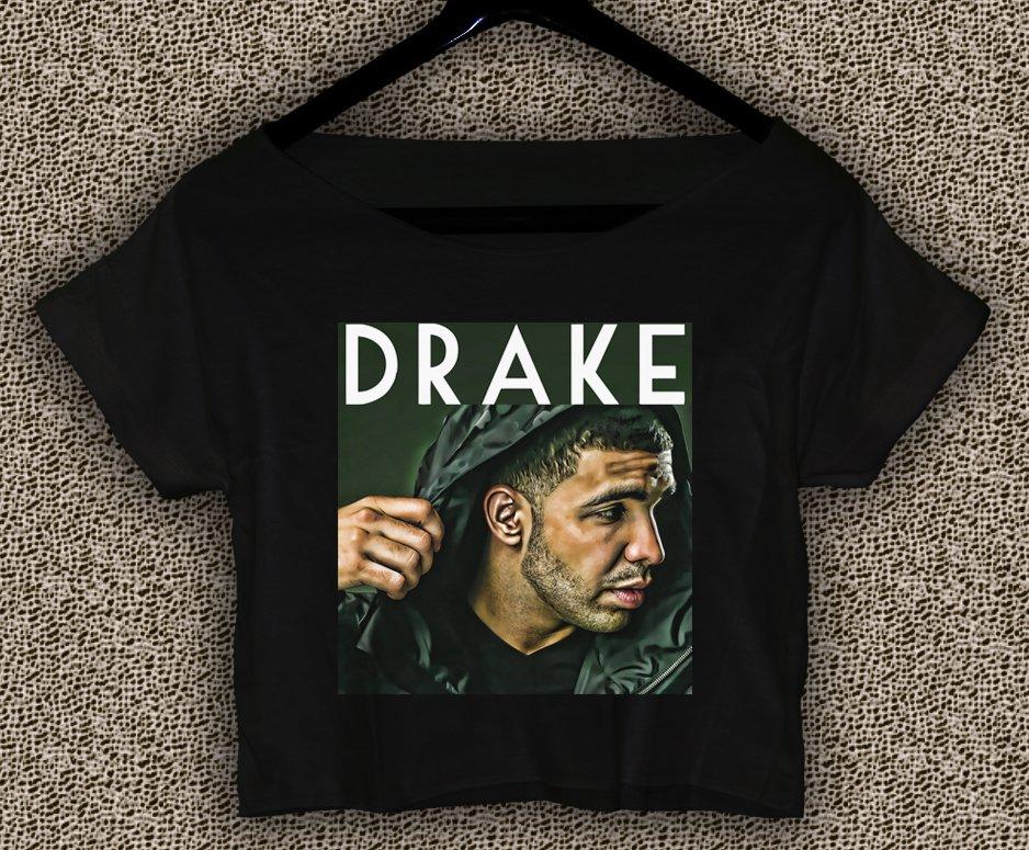 DRAKE Summer Sixteen T-shirt DRAKE Summer Sixteen Crop Top DRAKE Crop Tee DS#03