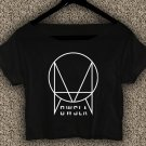 OWSLA Music T-shirt OWSLA Music Crop Top Skrillex Dubstep Trap Crop Tee OS#02