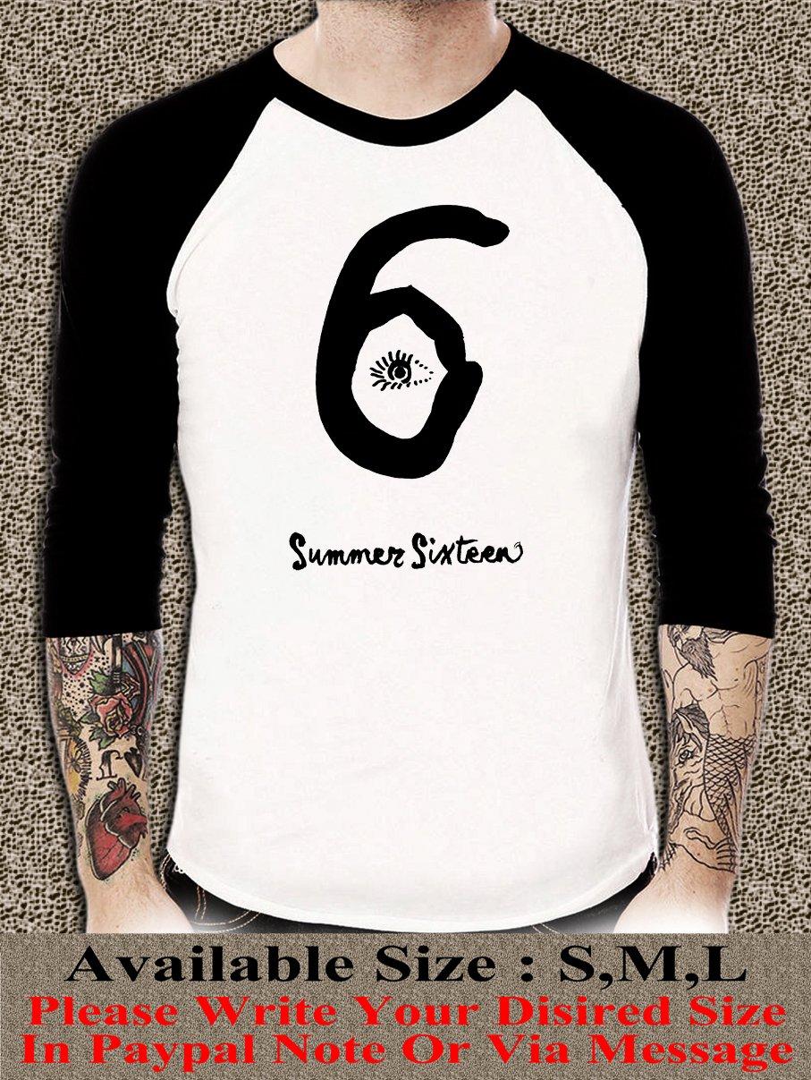 DRAKE Summer Sixteen Shirt DRAKE Summer Sixteen Unisex Adults Tshirt Any Size DSR#001
