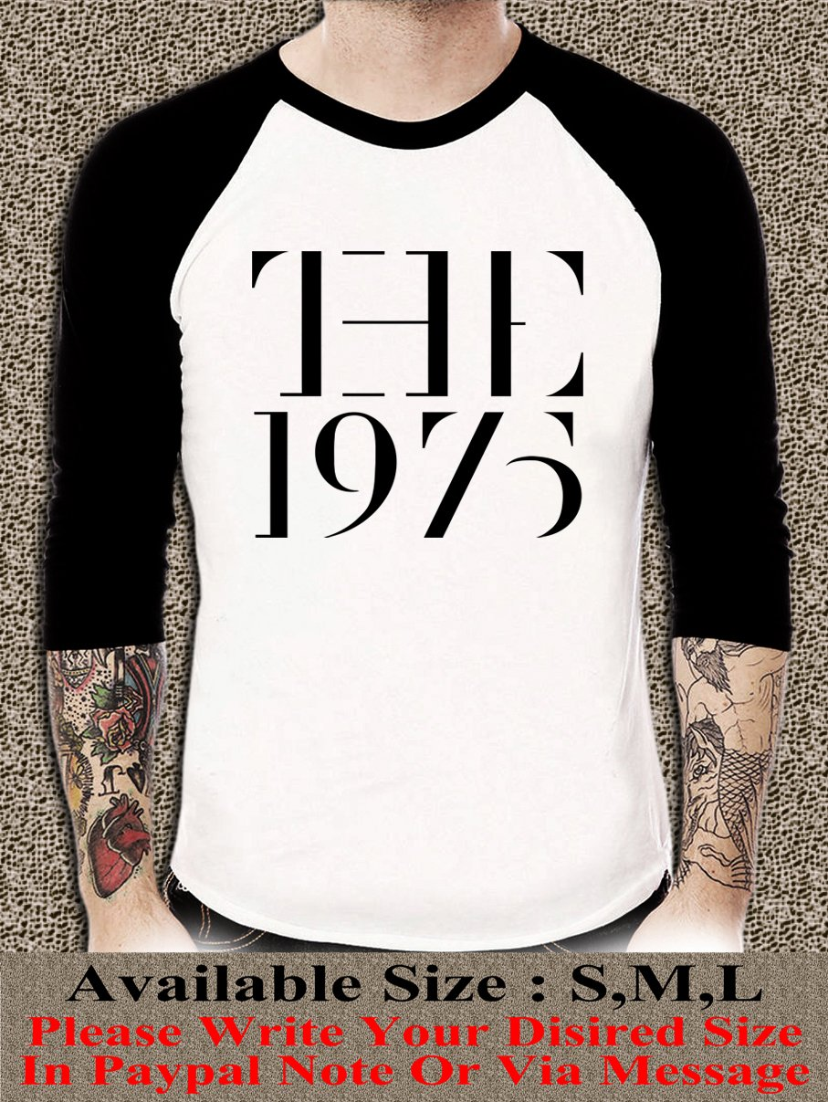 The 1975 Band Shirt The 1975 Band Unisex Adults Tshirt Any Size 75R#001