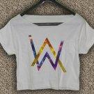 Alan Walker Faded T-shirt Electronic Music DJ Crop Top Divine Comedy Crop Tee AW#02