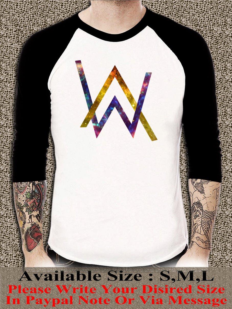 Electronic Music DJ Tee Divine Comedy Alan Walker Faded Logo Unisex Adults T-shirt AWR#01