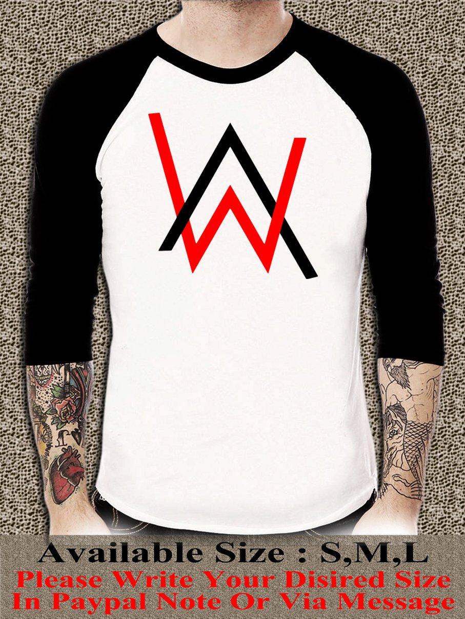 Electronic Music DJ Tee Divine Comedy Alan Walker Faded Logo Unisex Adults T-shirt AWR#02