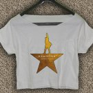 Hamilton American Musical Broadway T-shirt Hamilton Crop Top Hamilton Crop Tee HM#02