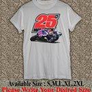 Maverick Vinales 25 Yamaha MotoGP T Shirt Size : S,M,L,XL,2XL