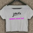 Little mix T-shirt Little mix Crop Top Little mix summer shout out Crop Tee LM#01