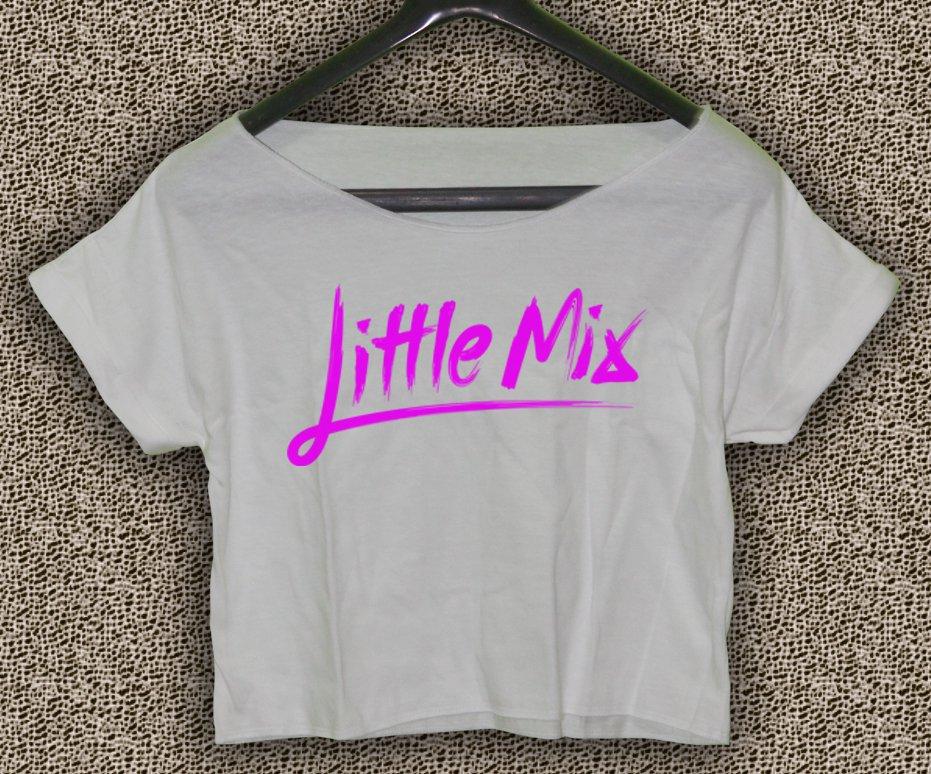 Little mix Tour 2017 T-shirt Little mix Tour 2017 Crop Top Little mix Crop Tee LM#04