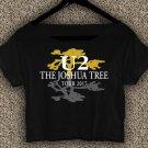 U2 The Joshua Tree Tour 2017 T-shirt U2 The Joshua Tree Crop Top U2 The Joshua Tree Crop Tee TJT#01
