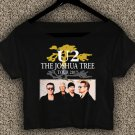U2 The Joshua Tree Tour 2017 T-shirt U2 The Joshua Tree Crop Top U2 The Joshua Tree Crop Tee TJT#02