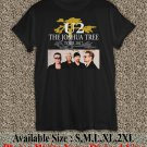 U2 The Joshua Tree Tour 2017 Black T-Shirt Men Music Concert Tee Size S to 2X TJT02