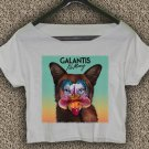 Galantis T-shirt Galantis Crop Top Galantis logo no money Crop Tee GLT#02
