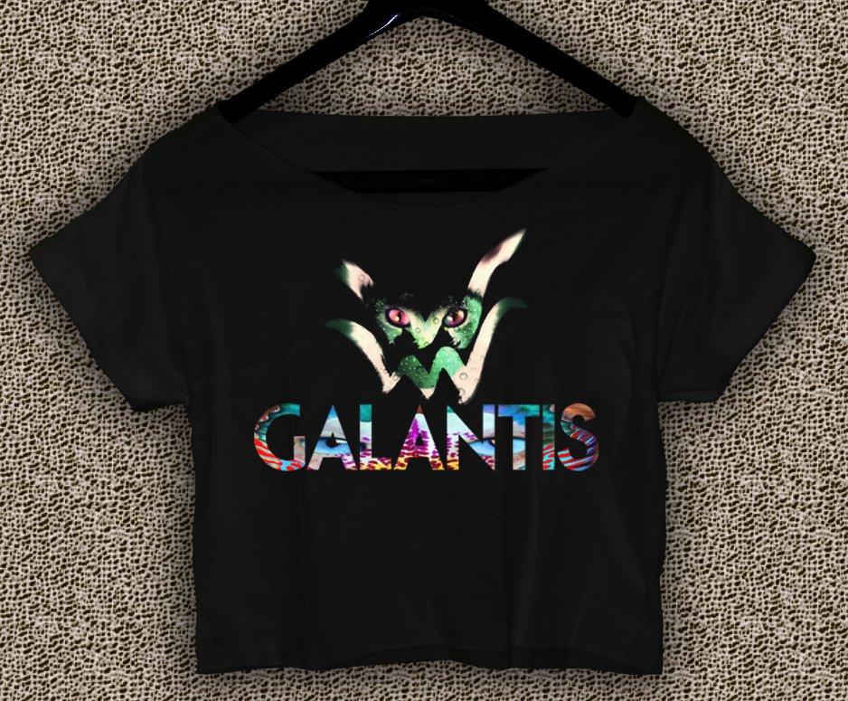 Galantis T-shirt Galantis Crop Top Galantis logo Crop Tee GLT#01