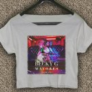 Becky G Mayores T-shirt Becky G Crop Top Becky G Yellow Ranger Crop Tee BG#01