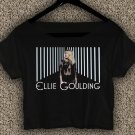 Ellie Goulding T-shirt Ellie Goulding Crop Top Ellie Goulding Still Falling For You Crop Tee EG#04