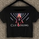 Ellie Goulding T-shirt Ellie Goulding Crop Top Ellie Goulding Still Falling For You Crop Tee EG#05