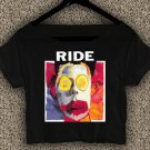 Ride Band Going Blank Again T-Shirt Ride Band Going Blank Again Crop Top Ride Crop Tee RG#01