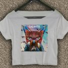 Galantis T-shirt Galantis Crop Top Galantis The Aviary Crop Tee GLT#TA02