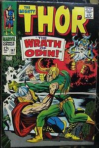 THOR# 147 Dec 1967 Origin of the Inhumans Kirby Art Silver Age KEY: 9.0 VF-NM