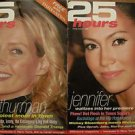 25 HOURS MAGAZINE LOT Oct 2004-May 2005 JLo, LiLo, Halle, Sarah Jessica, Mischa