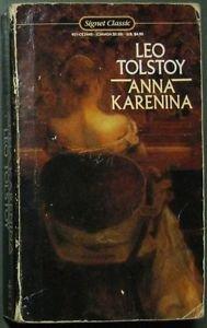 ANNA KARENINA by LEO TOLSTOY PAPERBACK BOOK SIGNET CLASSIC 1980: GOOD