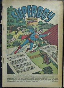 SUPERBOY LOT# 116,126,ANNUAL 1 Sum 1964-Jan 1966 Origin Krypto COVERLESS Silver