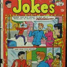 REGGIE'S WISE GUY JOKES# 3 Dec 1968 Reggie Silver Age Archie: 2.0 Good