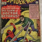 AMAZING SPIDER-MAN# 11 Apr 1964 2nd Dr Octopus Lee/Ditko SILVER AGE KEY: 2.0 GD