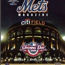 2009 METS 1st GAME OPENING DAY PROGRAMS SCORECARDS CITIFIELD- 2: UNSCORED! MINT!