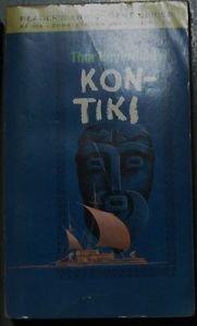 KON-TIKI by Thor Heyerdahl PAPERBACK BOOK WASHINGTON SQUARE PRESS Oct 1966: VG