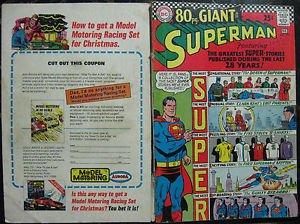 SUPERMAN# 193 Jan-Feb 1967 80pg Giant Swan/Klein Cover ORIGINAL FULL COVERS ONLY