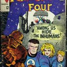 FANTASTIC FOUR# 45 Dec 1965 1st Inhumans Black Bolt Kirby Silver KEY: 7.0 FN-VF