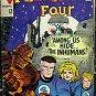 FANTASTIC FOUR# 45 Dec 1965 1st Inhumans Black Bolt Kirby Silver KEY: 7.0 FN-VF