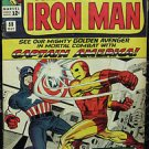 TALES OF SUSPENSE# 58 Oct 1964 Iron Man v Capt America 2nd Kraven SA KEY: 8.0 VF